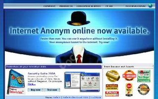 Steganos offers anonymous browsing without software