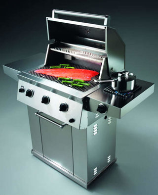 Electrolux BBQ brings new meaning to putting some shrimps on the barbie