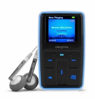 Creative drops price of its MP3 players