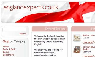 St George gets quintessentially English shopping site