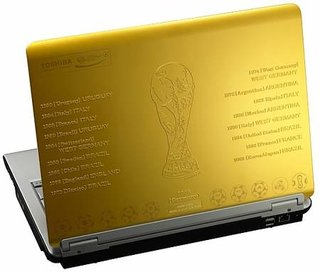 Toshiba launch World Cup laptop