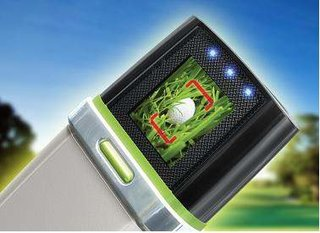 Golfers Ballfinder Scout to find lost golf balls