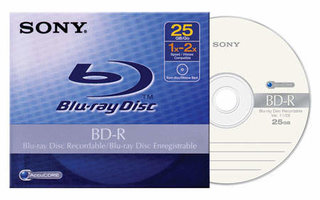 Sony announce recordable Blu-ray media