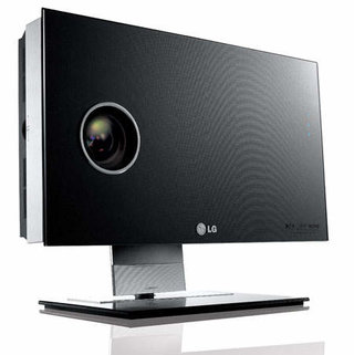 LG launch AN110 wall mounted HD projector