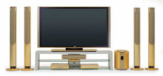LG launch gold plated 71PY10 71 inch plasma TV