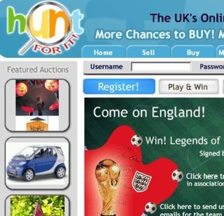 WEBSITE OF THE DAY - Huntforit.co.uk