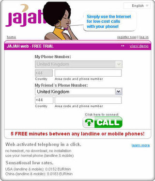 Jajah VoIP service launches in the UK