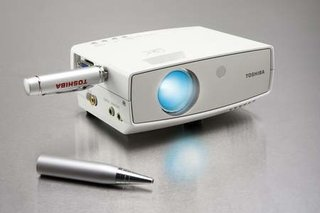 Toshiba releases the FF1 portable LED projector