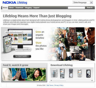 Nokia launches mobile-to-blog service in the Philippines