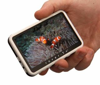 Tiny RoverTV is the ultimate in portability