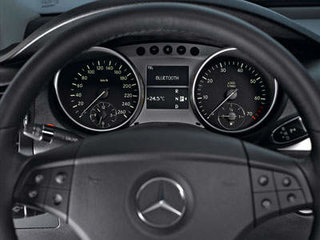 Mercedes Benz offers the Telephone Module to sync your mobile with your car