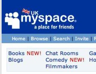MySpace becomes number one US website