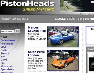 WEBSITE OF THE DAY - pistonheads.co.uk