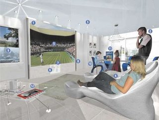 Homes of the future to be a totally immersive multimedia experience
