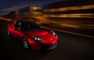 Electric car gets speed boost with the Tesla Roadster