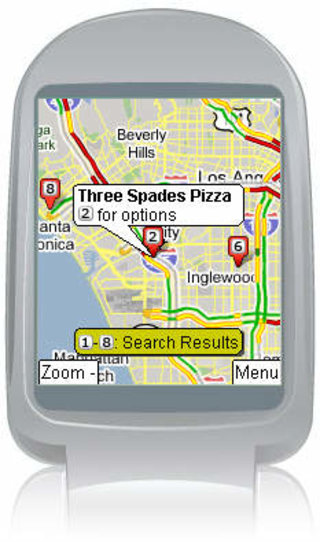 Google offers live traffic maps for mobile phones