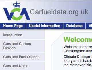 WEBSITE OF THE DAY - vcacarfueldata.org.uk