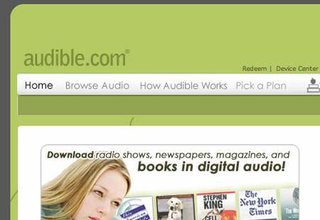 Freedom2surf offers free audiobooks to its customers