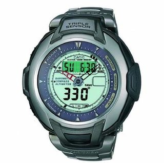 Casio Pro Trek and Sea Pathfinder watches
