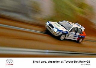 Scalextric cars to have their own rally, Slot Rally GB