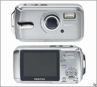 Pentax introduces the Optio W20 for underwater shooting