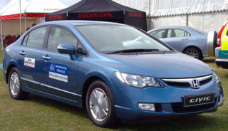 Met police add green Honda Hybrids to its fleet