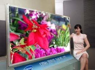Samsung unveils 70-inch LCD TV for the consumer market