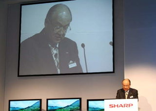 IFA 2006: Sharp looks to the future with Internet enabled TV