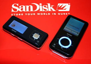 IFA 2006: SanDisk announce over 40 accesories for Sansa MP3 range