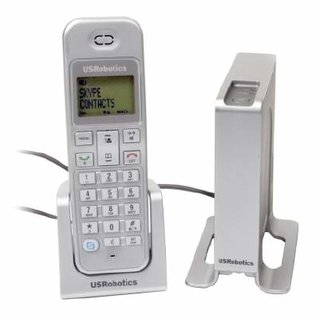 IFA 2006: USRobotics launches Skype enabled DECT phone