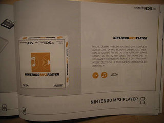 Nintendo rumoured to be launching MP3 player for DS and DS Lite soon