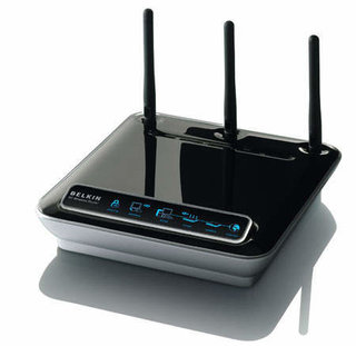 Belkin's N1 wireless router launched in the US