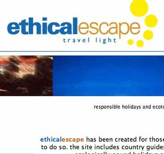 WEBSITE OF THE DAY - ethicalescape.com