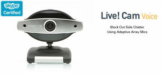 Creative releases Live! Cam Voice webcam with microphone