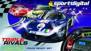 Scalextric adds realism with new Digital range