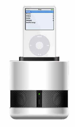 New Genesis speakers put the iPod on a pedestal