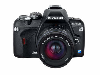 Olympus unveils E400 DSLR and two new lenses