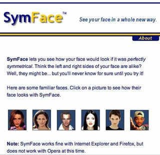 WEBSITE OF THE DAY - symface.com