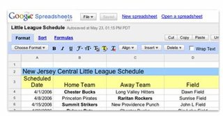 Google adds new features to Spreadsheet tool