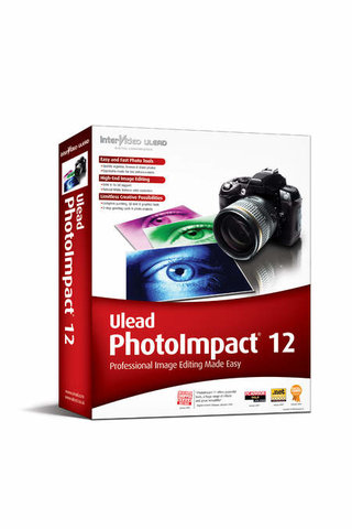 Ulead releases PhotoImpact 12 image and video editing software