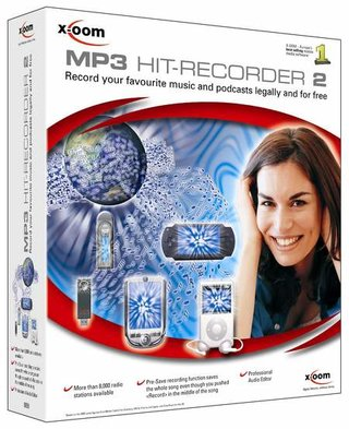 MP3 Hit Recorder 2 software records audio from internet radio