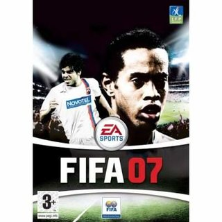 FIFA 07 lands in the UK while Pro Evo Soccer 6 gets October launch date