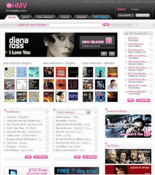 HMV launches new digital download store