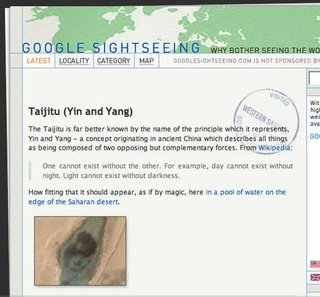 WEBSITE OF THE DAY - googlesightseeing.com