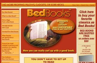 WEBSITE OF THE DAY - bedbooks.net