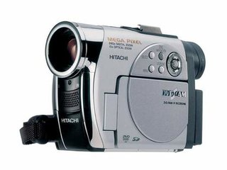 Hitachi plans to develop Blu-ray recording video camera