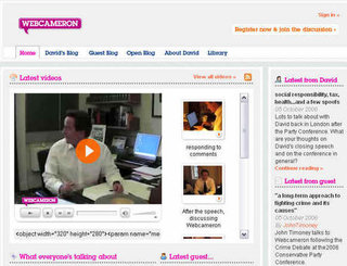 Tory party leader David Cameron falls foul of cybersquatters
