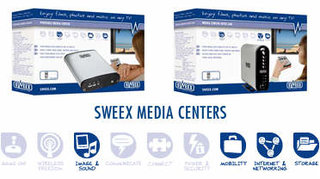 Sweex launches a range of 5 Media Centers