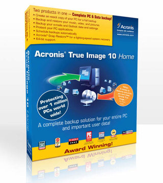 Acronis releases latest backup software, True Image Home 10.0