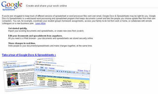 Google relaunches Writely and Spreadsheet tool